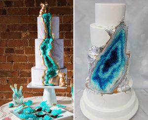 Оригинальные торты с имитацией драгоценных камней