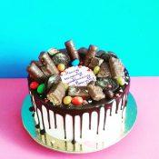 Торт с шоколадками