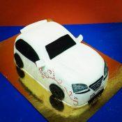 Торт 3D из мастики